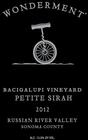 <pre>2012 Bacigalupi Vineyard Petite Sirah 3L (Extremely Limited)</pre>